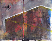 Sketchbook Mixed Media Prints - Empty Print by Chad Brown