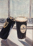 Beer Oil Paintings - Empty Me by Chris Grocholski