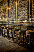 Tiled Prints - Empty Pub Print by Heather Applegate