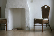 Empty Chairs Originals - Empty Room With Two Chairs by Peter Zijlstra