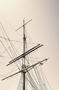 Wooden Ship Prints - Empty Sails Print by Margie Hurwich