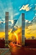 Wtc 11 Art - Empty Skies Sunset by Nick Zelinsky
