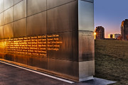 Victims Prints - Empty Sky NJ 911 Memorial  Print by Susan Candelario
