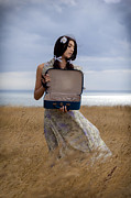 Braids Photo Prints - Empty Suitcase Print by Joana Kruse