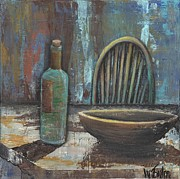 Wooden Bowl Paintings - Empty by Whitney Tomlin