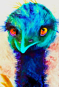 Emu Paintings - Emu by Jeanne Treschuk
