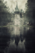 Haze Photo Framed Prints - Enchanted Castle Framed Print by Joana Kruse