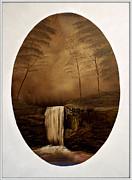 Enchanted Falls Print by Joyce Krenson