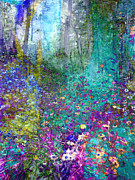 Enchanted Forest Print by Ann Powell