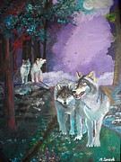 Pride Paintings - Enchanted Forest by Maricay Smeenk