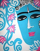 Siddharta Painting Metal Prints - Enchanting buddha  Metal Print by Madhuri Krishna