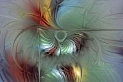 Karin Kuhlmann Art Digital Art - Enchanting Flower Bloom-Abstract Fractal Art by Carlita Cooly