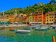 Enchanting Portofino In Ligure Italy IIi Print by M Bleichner