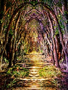Swag Posters - Enchantment Forest Poster by Michelle Frizzell-Thompson