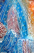 Virgen De Guadalupe Paintings - Encounter by  Tolere