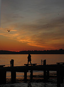 Kirkland Photo Posters - End Of A Day Poster by Cheryl Perin