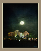 End Of Beach Blvd Print by Linda Olsen