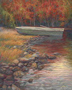 End Of The Day Print by Lucie Bilodeau