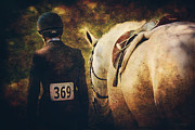Upperville Prints - End Of The Day Print by Lyndsey Warren