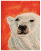 Change Pastels Prints - Endangered Species of Climate Change Print by Bob Timmons