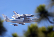 Space Shuttle Endeavor Prints - Endeavors Last Flight  Print by Gilbert Artiaga