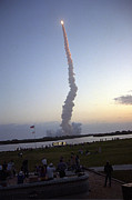 Endeavour Framed Prints - Endeavour Liftoff for STS-59 Framed Print by Nasa