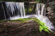 Cascading Water Prints - Enders Falls 3 Print by Bill  Wakeley