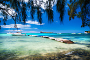 Mauritius Photos - Endless Blue. Tropical Series by Jenny Rainbow