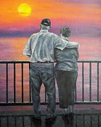 Grandparents Posters - Endless Love Poster by Susan DeLain