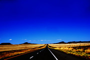 Susanne Van Hulst Prints - Endless Roads in New Mexico Print by Susanne Van Hulst