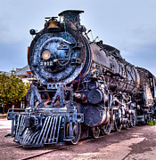 Northern Colorado Digital Art Prints - Engine 2912 Color Print by JFantasma Photography