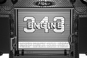 Maltese Cross Posters - ENGINE 343 in BLACK AND WHITE Poster by Rob Hans