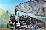 Strasburg Framed Prints - Engine 475 Framed Print by John W Walker