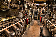 Jon Burch Photography Metal Prints - Engine Room Metal Print by Jon Burch Photography