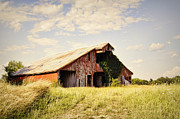 Englewood Framed Prints - Englewood Barn Framed Print by Cricket Hackmann