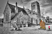 Catholic Art Photo Originals - English Church by Rob Guiver