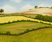 Rebecca Prough - English countryside in...