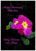 Joyce Dickens - English Primrose Happy Anniversary