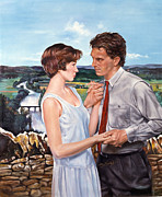 Novel Paintings - English romance by Gary McLaughlin