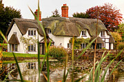 Sarah Broadmeadow-Thomas - English Thatched Cottage