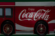 Sign Posters - Enjoy Coca Cola Poster by Susan Candelario