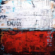 Jolina Anthony Prints - Enjoy Print by Jolina Anthony