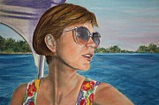 Sunglasses Pastels - Enjoy the sun by Linda Eversole