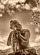 Teachings Metal Prints - Enlightenment 2 Metal Print by Cheryl Young