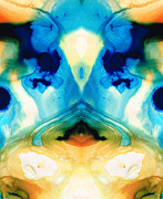 Kaleidoscope Paintings - Enlightenment - Abstract Art By Sharon Cummings by Sharon Cummings