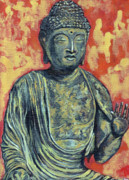 Buddhist Painting Originals - Enlightenment by Tom Roderick