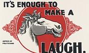 REPRODUCTION - Enough to make a Horse laugh