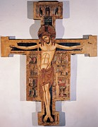 13th Century Photos - Enrico Di Tedice, Crucifix, 13th by Everett