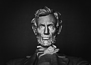 Abraham Lincoln Framed Prints - Enshrined Forever Framed Print by Christi Kraft