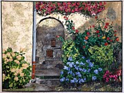 France Tapestries - Textiles Originals - Enter My Sanctuary by Lenore Crawford